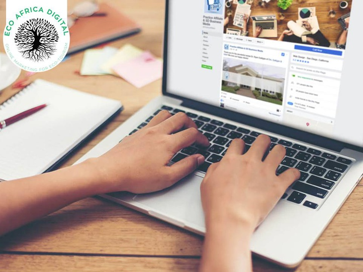 Paid Facebook Ads Page Management, Eco Africa Digital provide Paid Social Media services for Tourism Destinations In Africa, includes  Facebook Ads for Guest Houses, Lodges, Hotels and B&B's, Golf Resorts and Island Getaways.