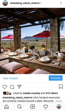 Social Media Content Creation & Management on Instagram, Eco Africa Digital creates strategic Facebook and Instagram ads as well a manages social media pages for Tourism businesses in Africa, includes Lodges, Safari Lodges, Golf Resorts & Island Getaways.