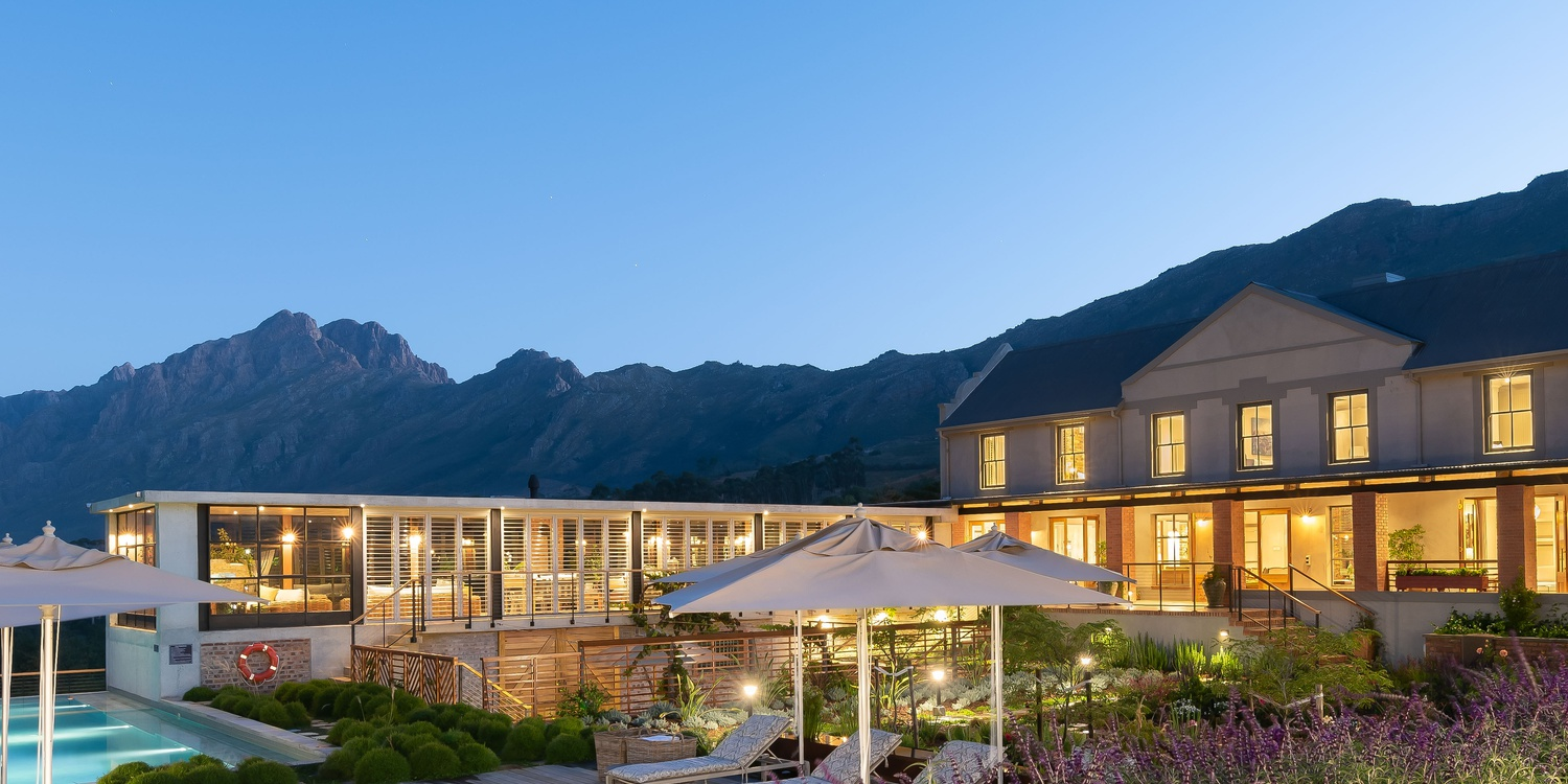 Eco Africa Digital client De Zeven Luxury Guest House in Stellenbosch - Hospitality and Tourism Marketing Company in South Africa